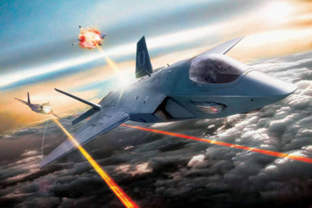 Air Force will have combat lasers on its next generation war planes (1)