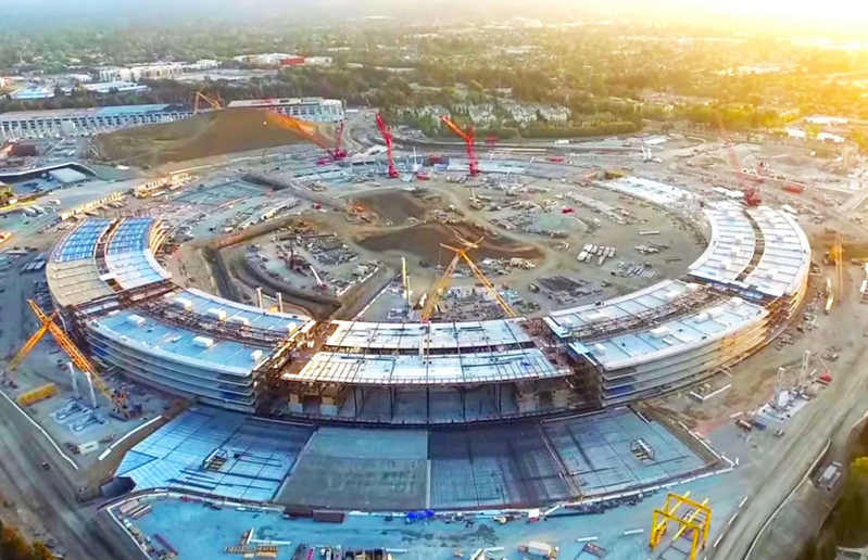 Apple Campus 2 in August 2015