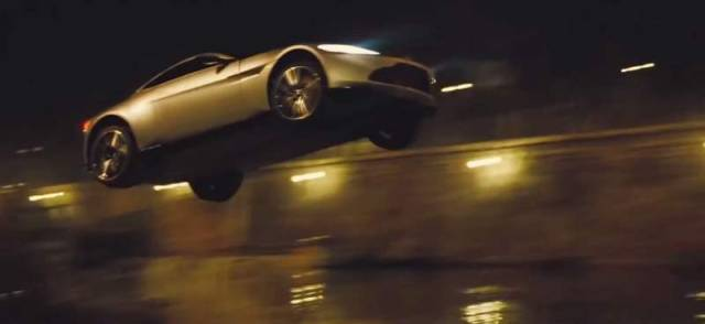 Action sequences in Spectre (4)