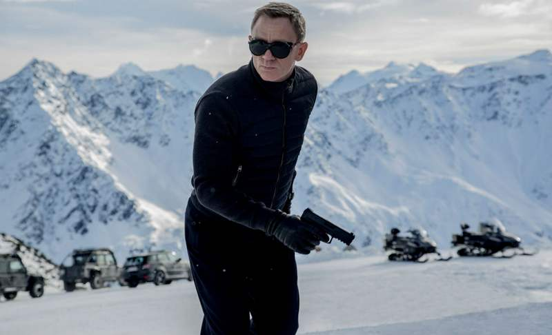 Action sequences in Spectre (1)