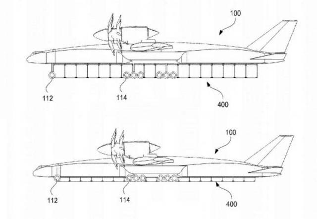 Boeing cargo plane to transfer containers (2)