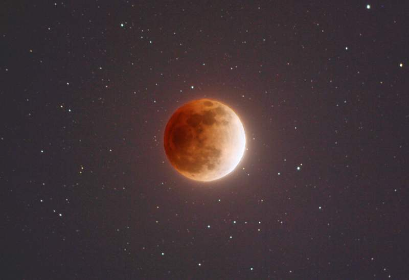Sunday's Supermoon - eclipse