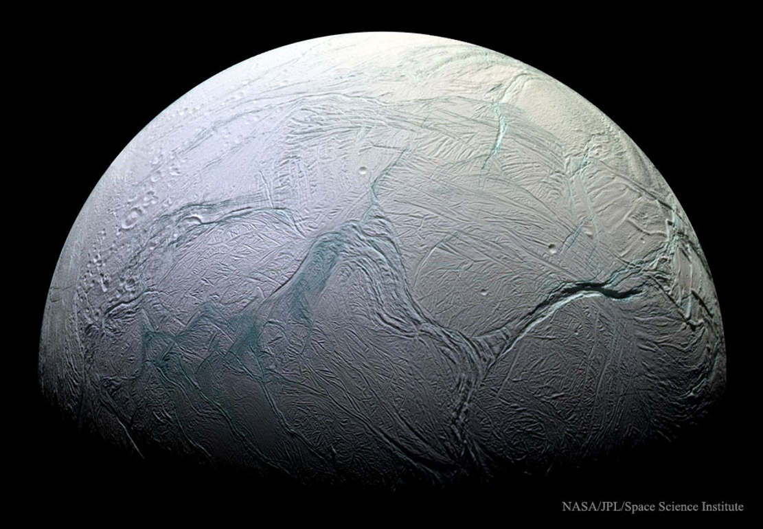 Global Ocean Suspected on Saturn's Enceladus