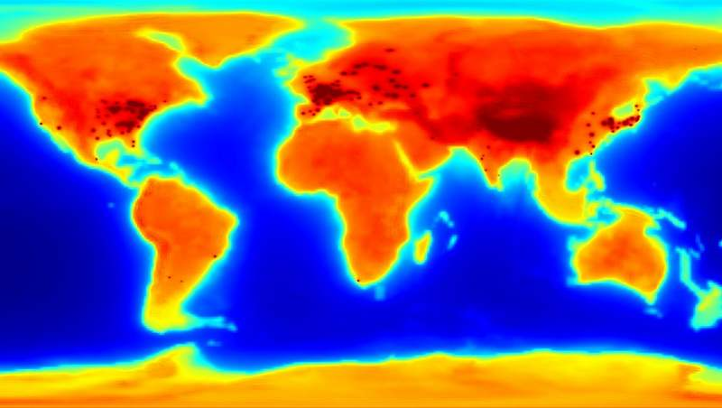 Glowing Antineutrino Global Map