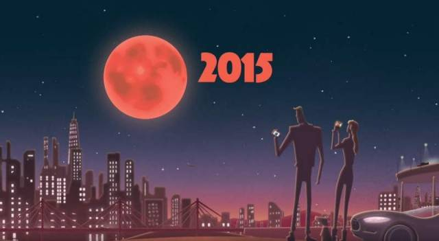 Supermoon eclipse on September 27th, 2015
