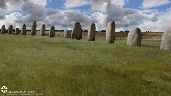 Huge Stonehenge found below ground