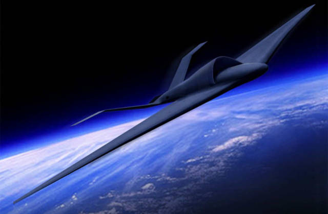 Lockheed Unmanned TR-X high-altitude jet