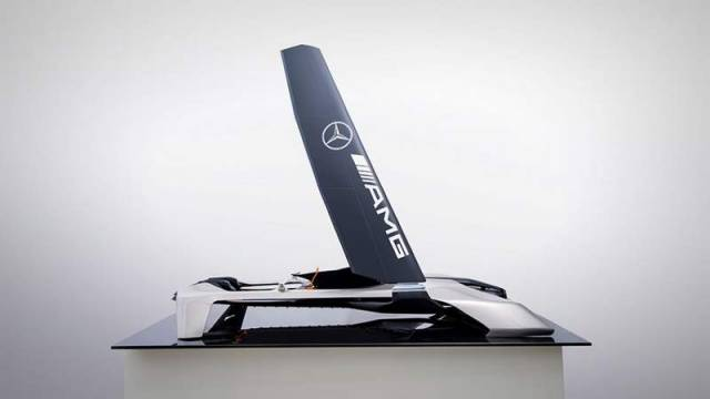 Mercedes Benz Wind Power Hydrocraft
