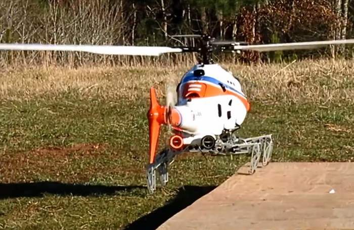 Landing Gear could revolutionize where Helicopters Land