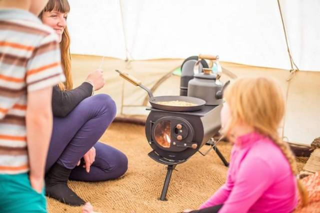 New portable woodburning stove (1)