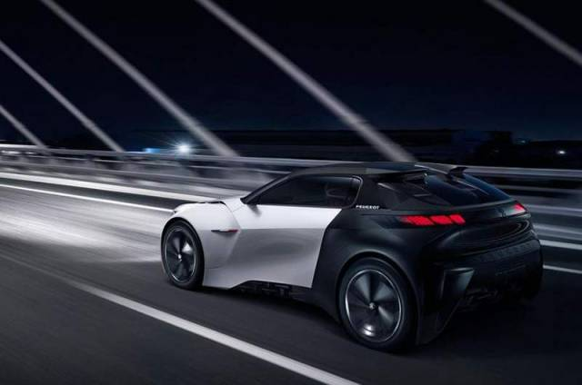 Peugeot Fractal electric car concept