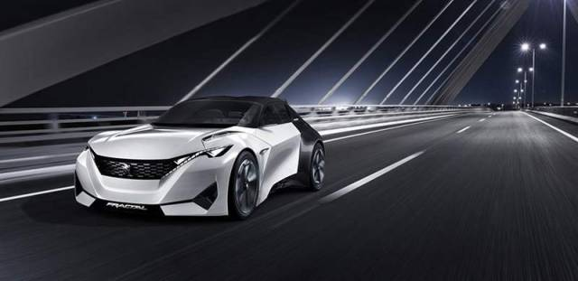 Peugeot Fractal electric car concept (7)