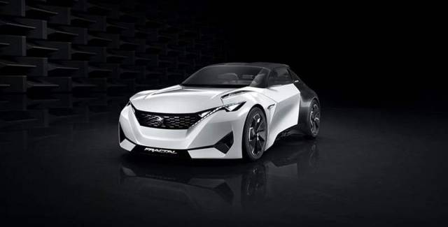 Peugeot Fractal electric car concept (2)