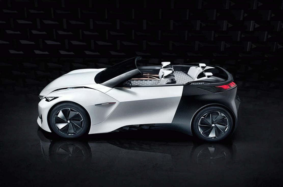 Peugeot Fractal electric car concept (1)