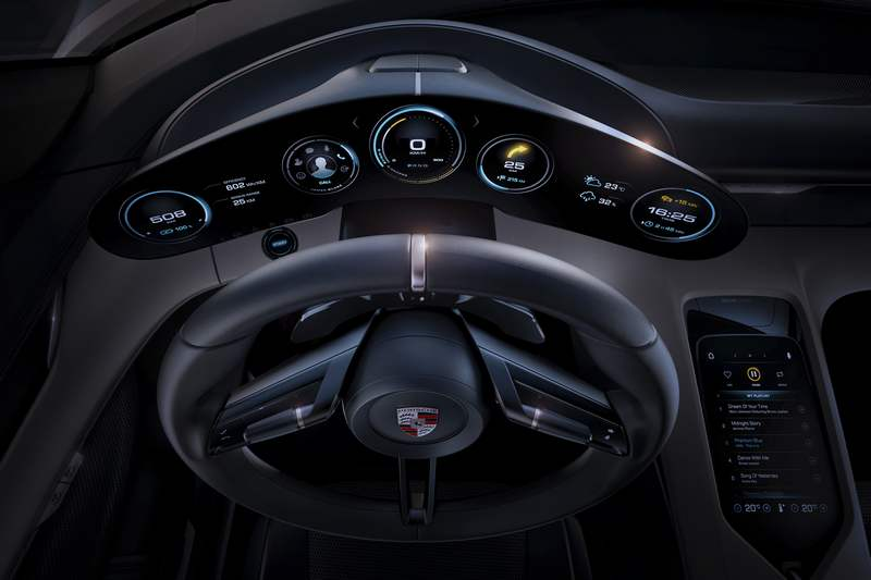 Porsche Mission E World Most Advanced Interior