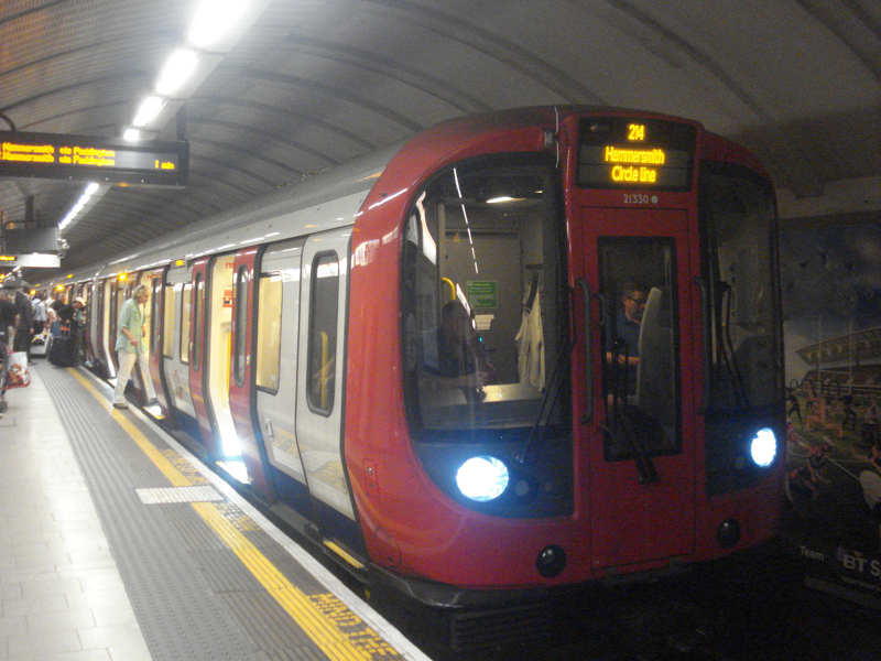 Recycling energy from Tube train brakes