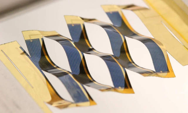 Simply made Solar Cells can track the sun