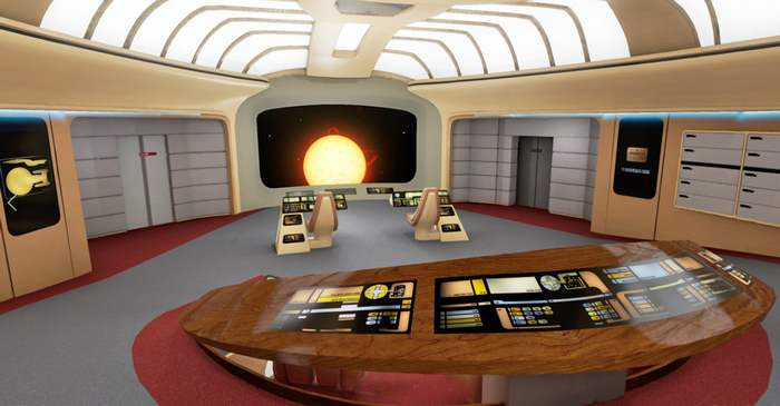 Starship Enterprise-D Virtual Tour (5)