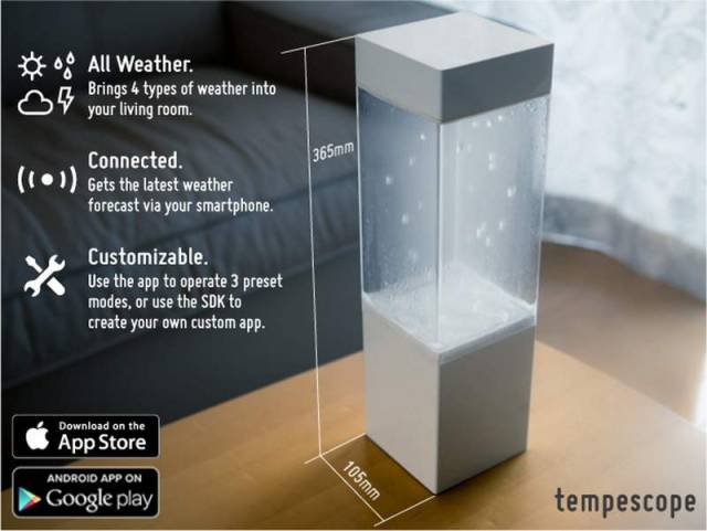 Tempescope- a box of weather in your living room (4)