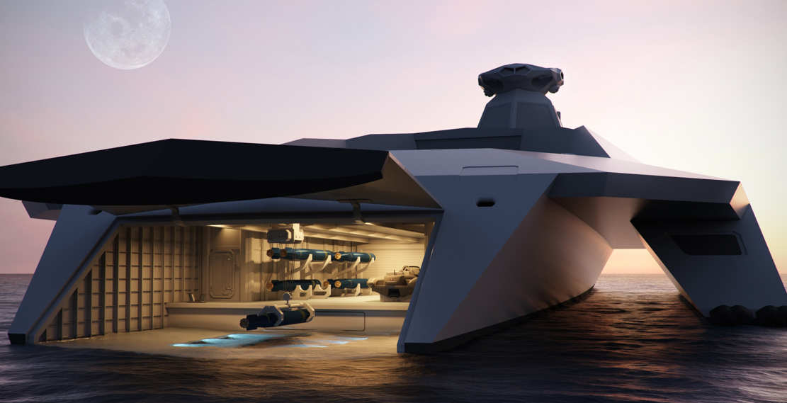 Dreadnought 2050 the Warship of the Future (1)