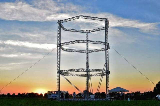 The biggest Delta 3d printer in the world
