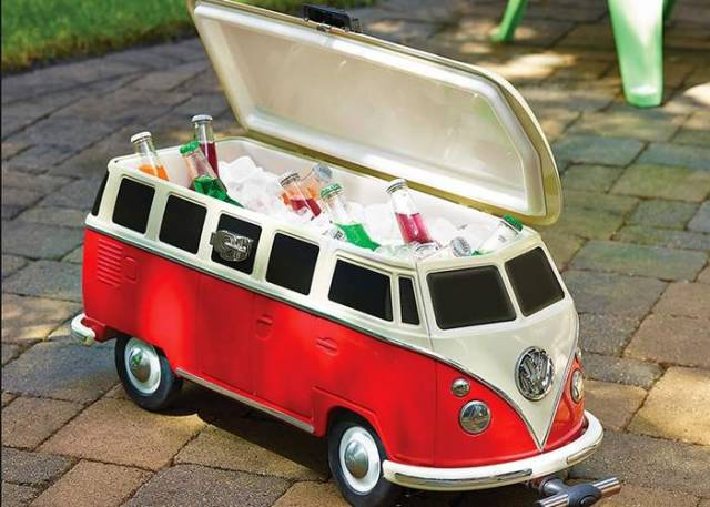 The iconic VW Camper Van Cooler