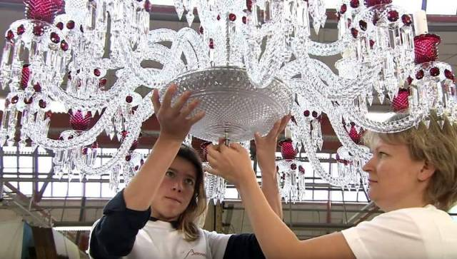 a crystal chandelier (1)