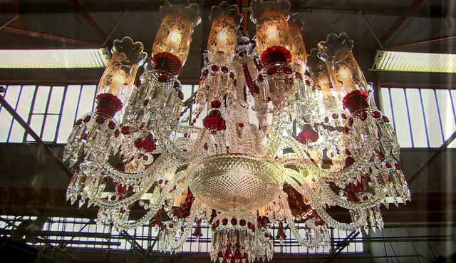 The making of a crystal chandelier wordlesstech the making of a crystal chandelier aloadofball Choice Image