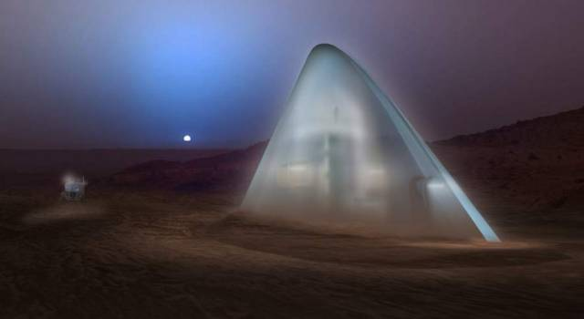 The first-place award of $25,000 went to Team Space Exploration Architecture and Clouds Architecture Office