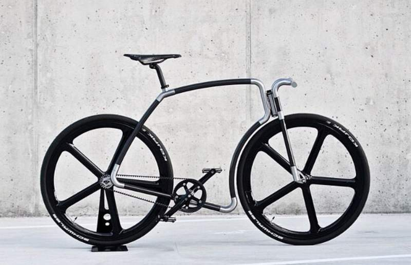 Viks carbon fiber bicycle (8)