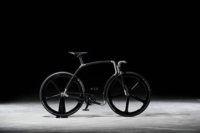 Viks carbon fiber bicycle (7)