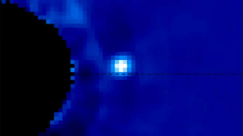 Watching an Exoplanet in Motion around its Star