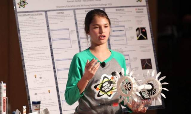 Hannah Herbst Named America's Top Young Scientist in Nation
