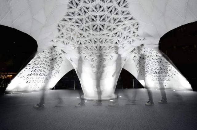 3D Printed Architectural Pavilion in Beijing