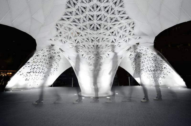 3D Printed Architectural Pavilion in Beijing (9)