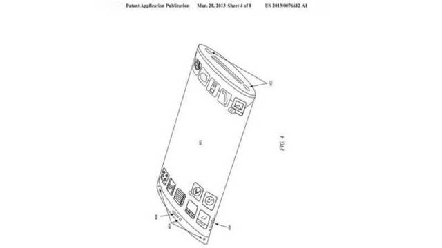 Apple patented an iPhone with Curved Screen (2)