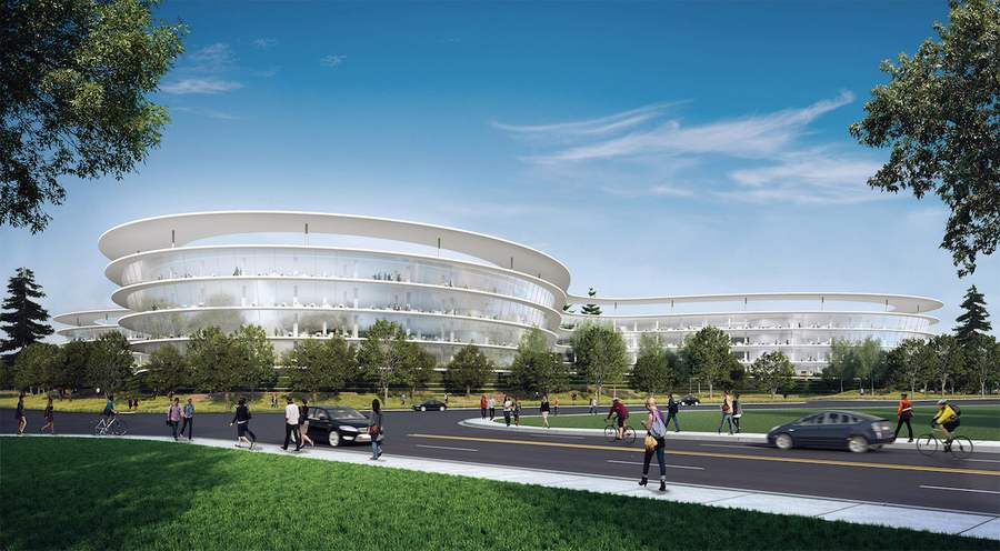 Apple's Second 'Spaceship' Campus (8)