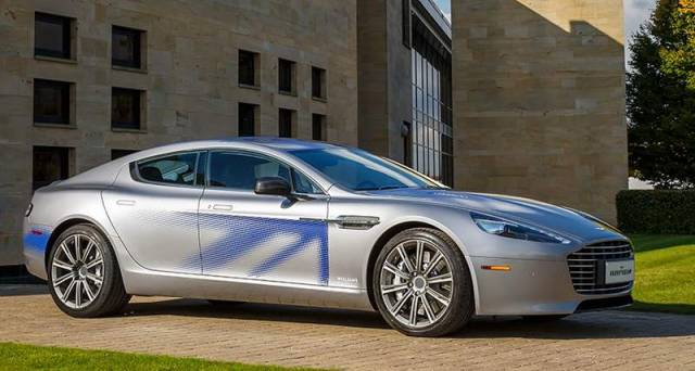 Aston Martin fully Electric RapidE