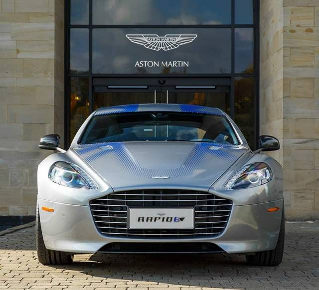 Aston Martin fully Electric RapidE (4)