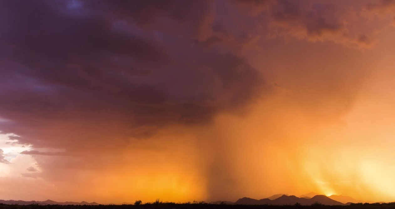 Monsoon in Arizona