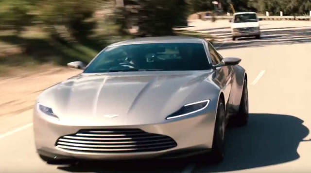 Driving the James Bond's 2016 Aston Martin DB10