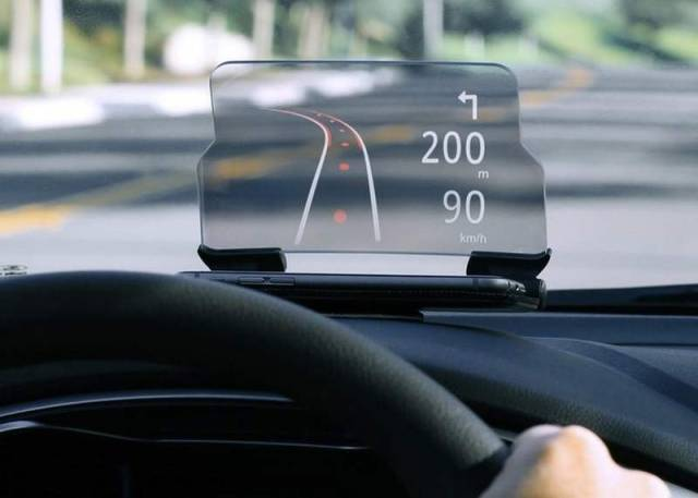 Hudway Heads-Up Display for any car