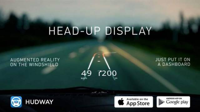 Hudway Heads-Up Display for any car (3)