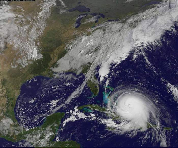 Hurricane Joaquin a Category 4 Storm strengthening Over Bahamas (