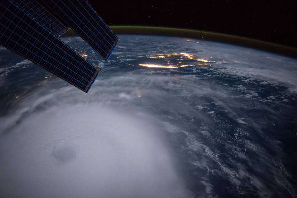 Hurricane Joaquin from the ISS