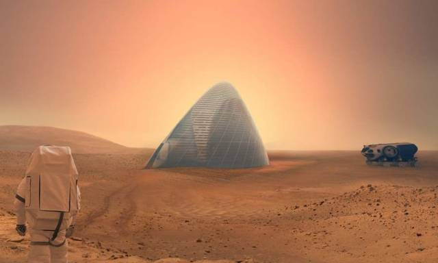 Ice House 3D-printed ice shell on Mars (6)