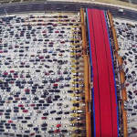 Insane Chinese traffic jam
