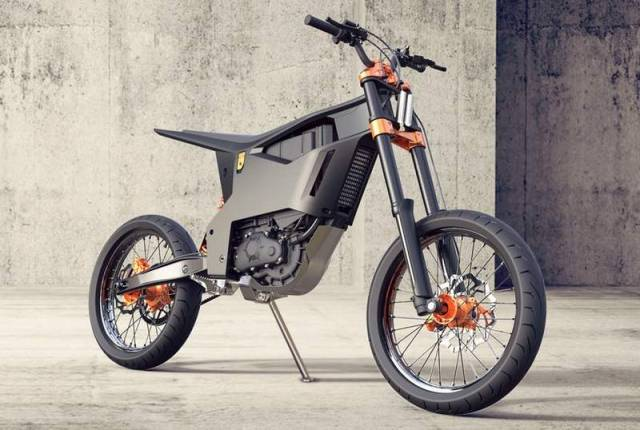 KTM Delta electric motorcycle