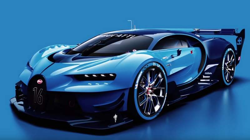 making of the bugatti vision gran turismo wordlesstech. Black Bedroom Furniture Sets. Home Design Ideas