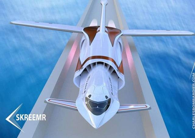 'Skreemr' Plane could hit Mach 10